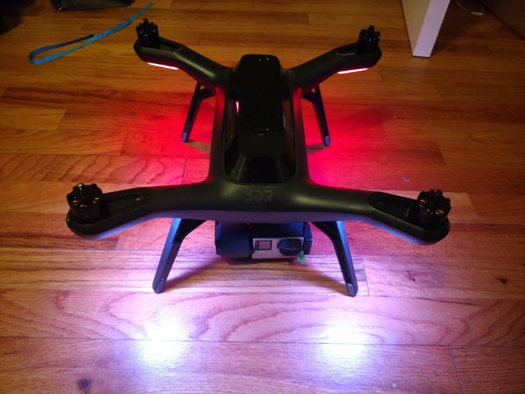 Gimbal facing slightly left   3D Robotics Drone Forum