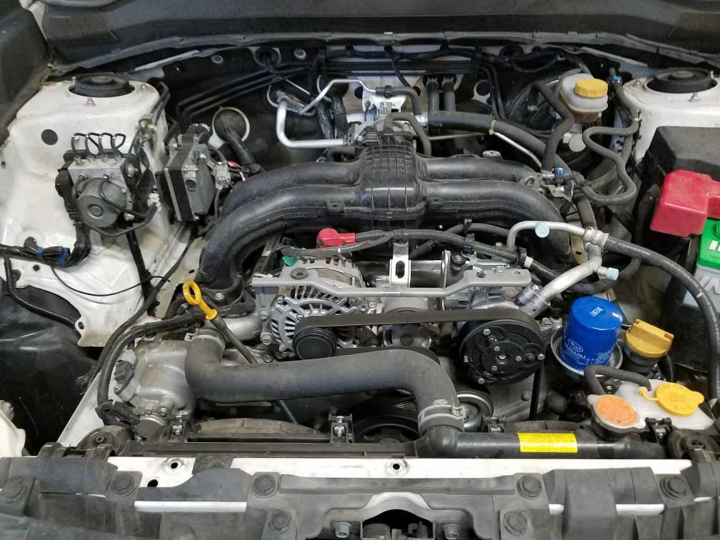 14 18 Fb Engine Short Block Swap For Oil Consumption Subaru