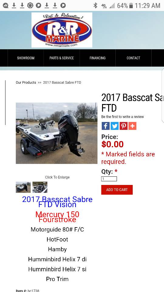Looking for a 2010 and newer Sabre - Bass Cat Boats