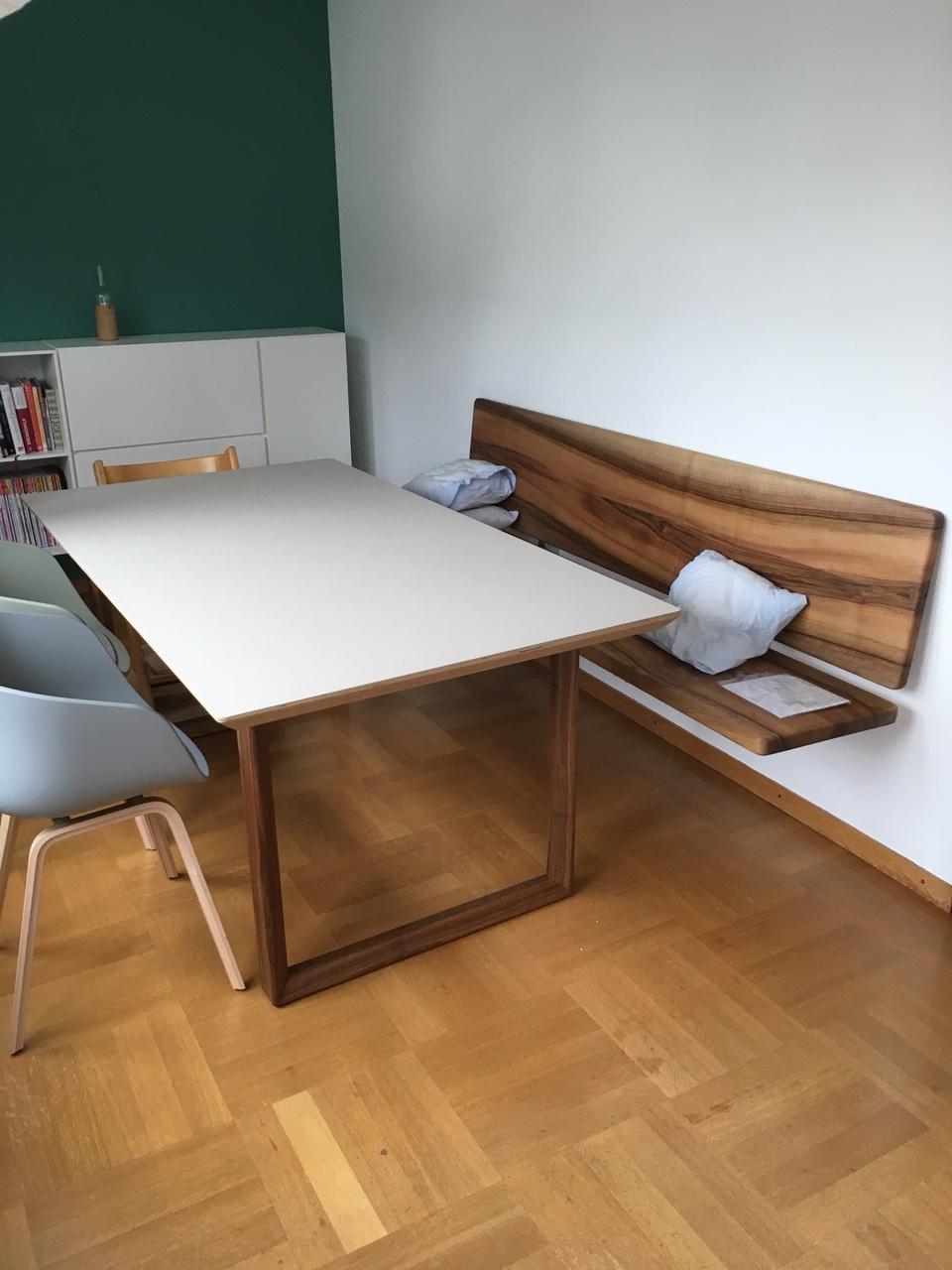 wandh ngende sitzbank. Black Bedroom Furniture Sets. Home Design Ideas