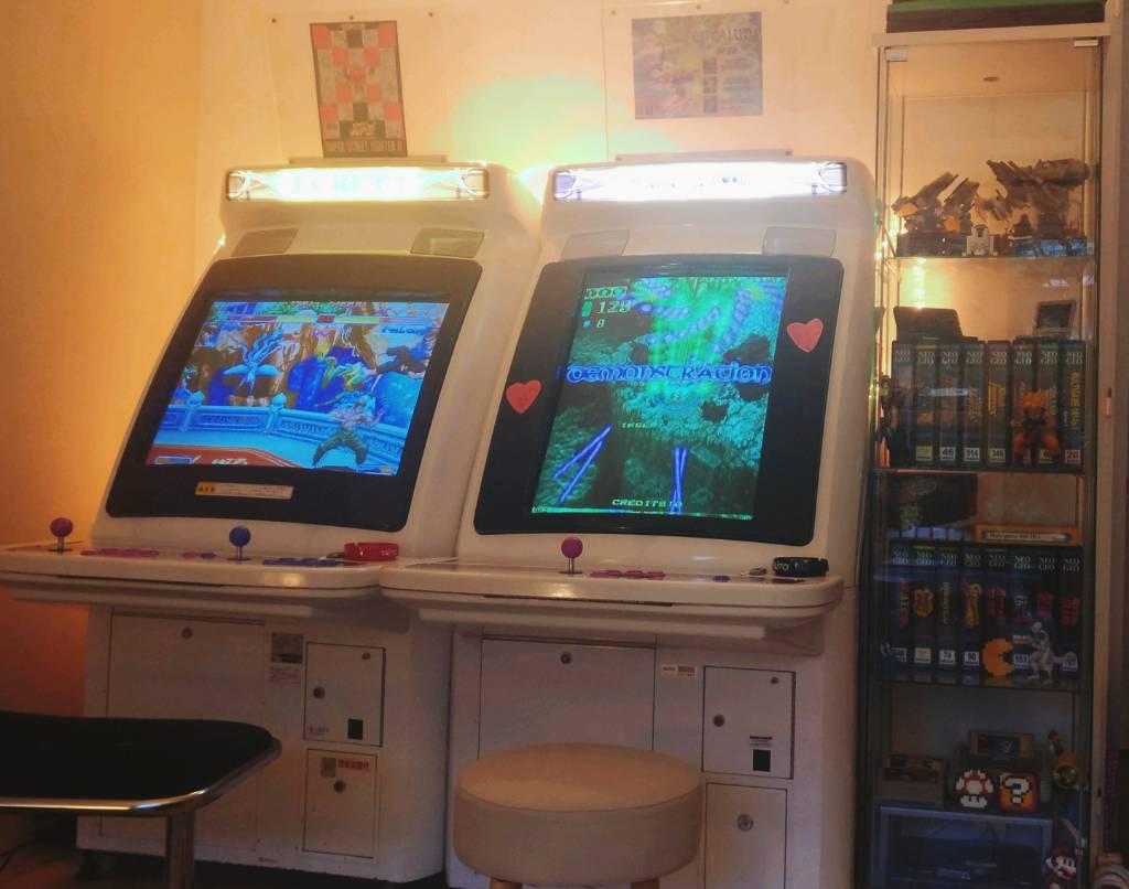 borne arcade taito egret 3