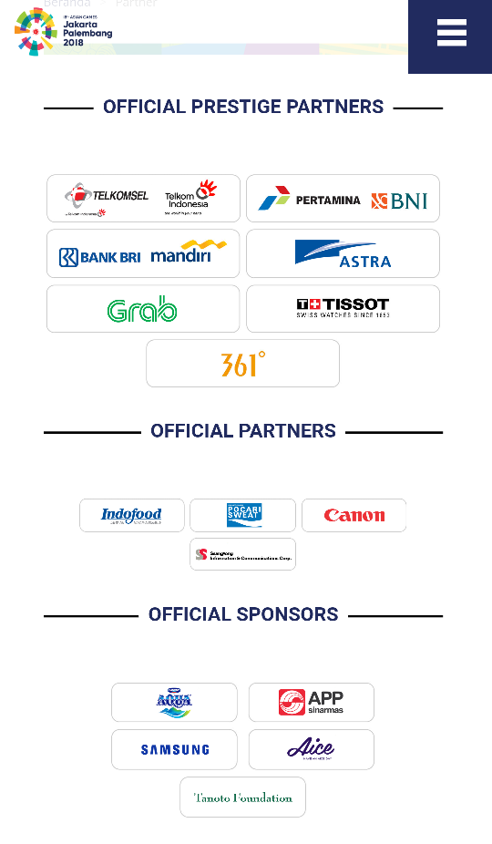 5c222475b4df92d55008d3f9ed1e2511 - Asian Games 2018 Official Sponsor