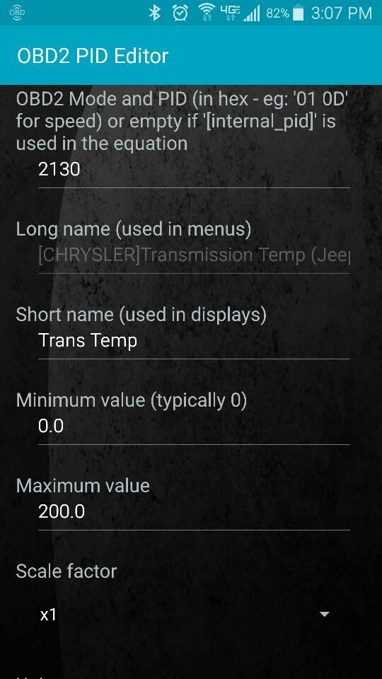 Torque Pro, CRD, trans temp low - JeepForum com
