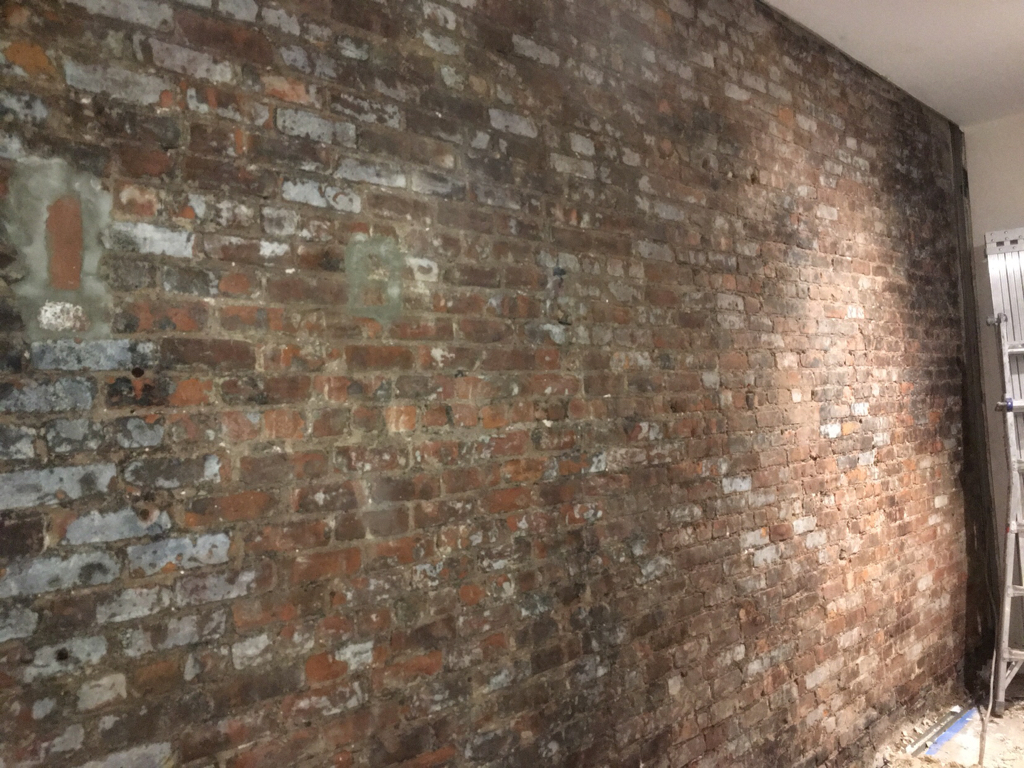 Removing Stucco Cement From Interior Brick Wall Page 2