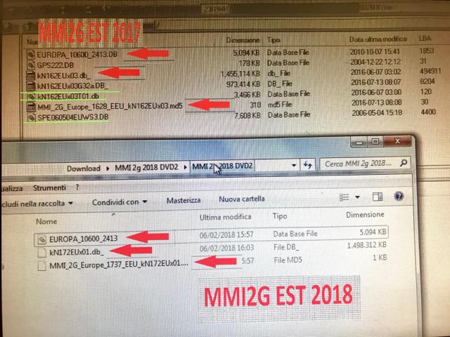 Audi Navigation MMI 2G DVD WEST EUROPE 2018