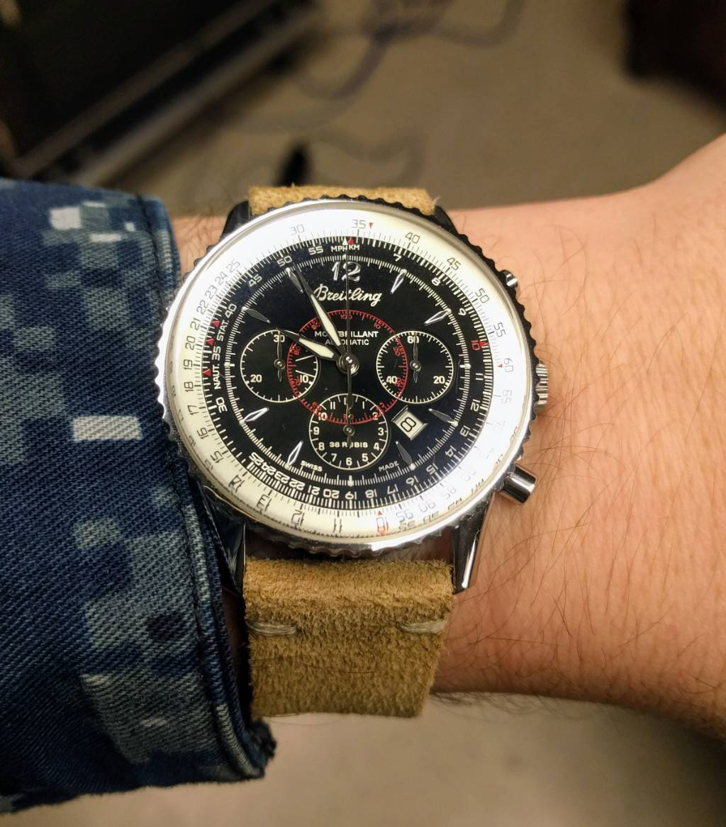 Lettuce Discuss The Navitimer Montbrillant 38mm Page 2