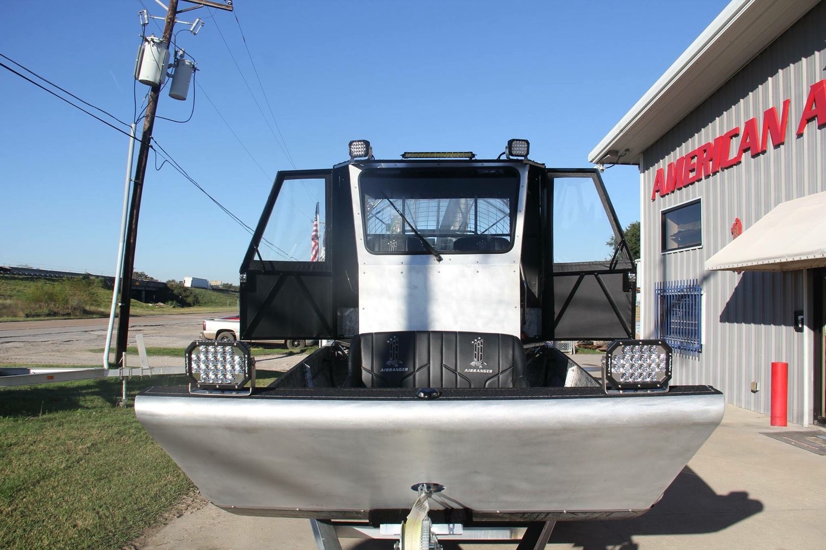 Airboats with Windshields and Cabs - Southern Airboat