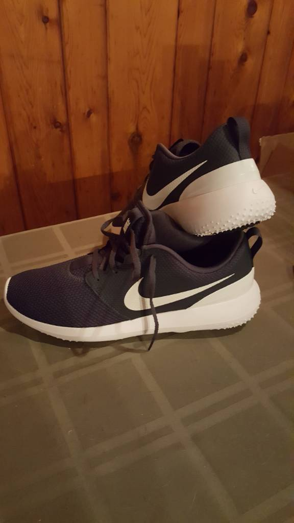 nike roshe golf shoes brown