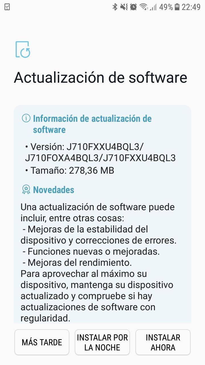 Samsung J710f Secure Check Fail Pit