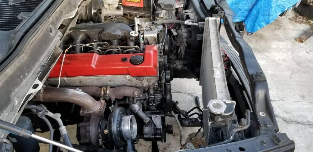 Mercedes diesel om603 3rd gen dodge swap