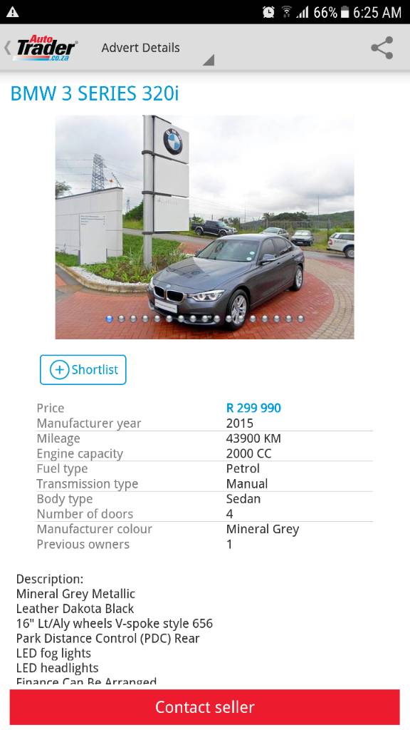 buying a second hand 2015 BMW 3 Series 320i M Sport   MyBroadband Forum
