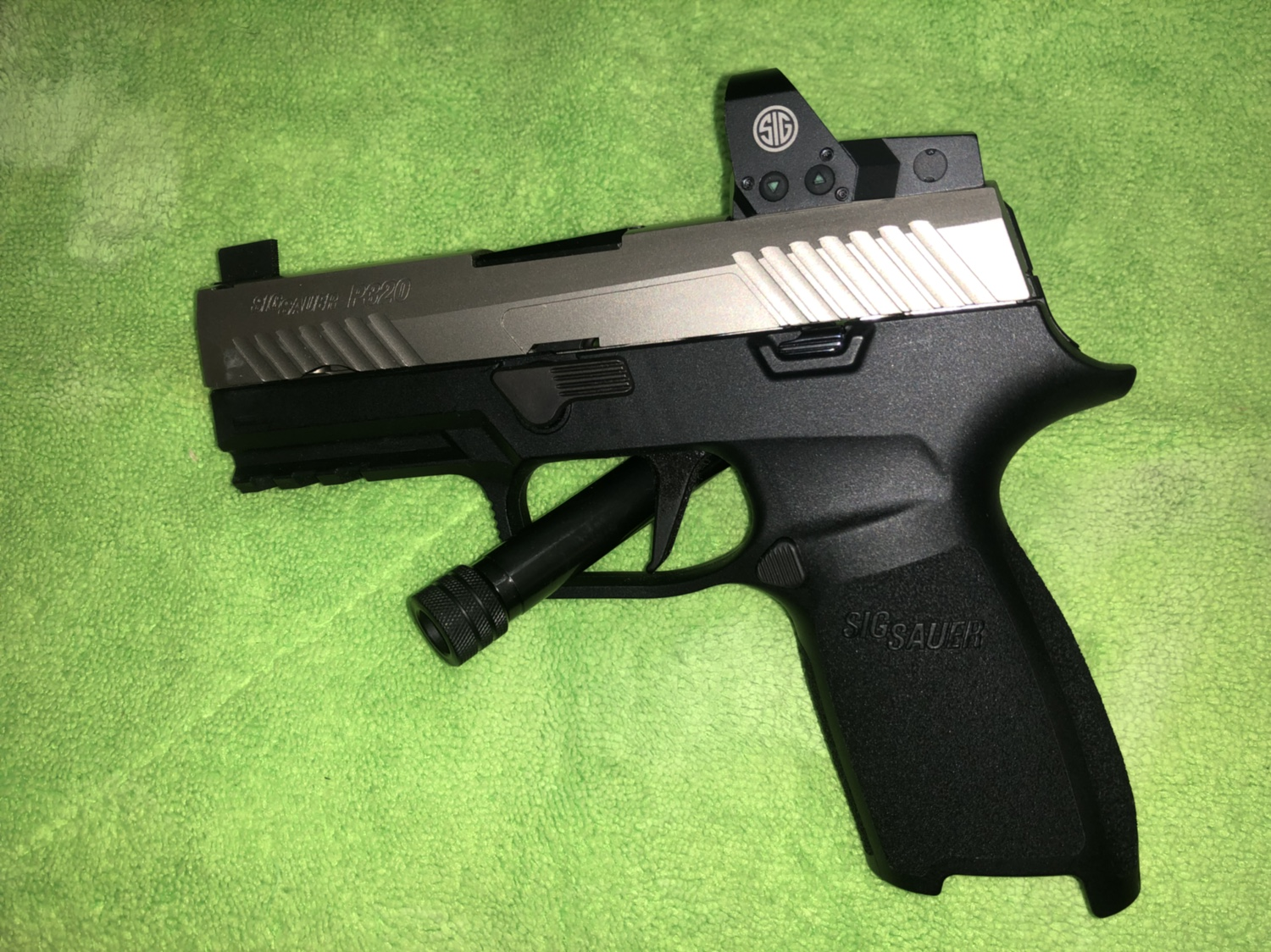 WTS: 2 Sig Sauer P320 RX carry and Sig Sauer P320 RX compact