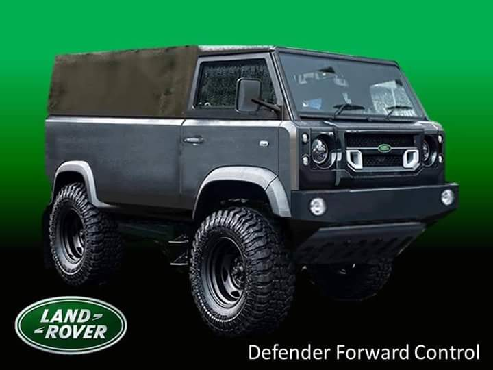 Early Pic Of The New Defender