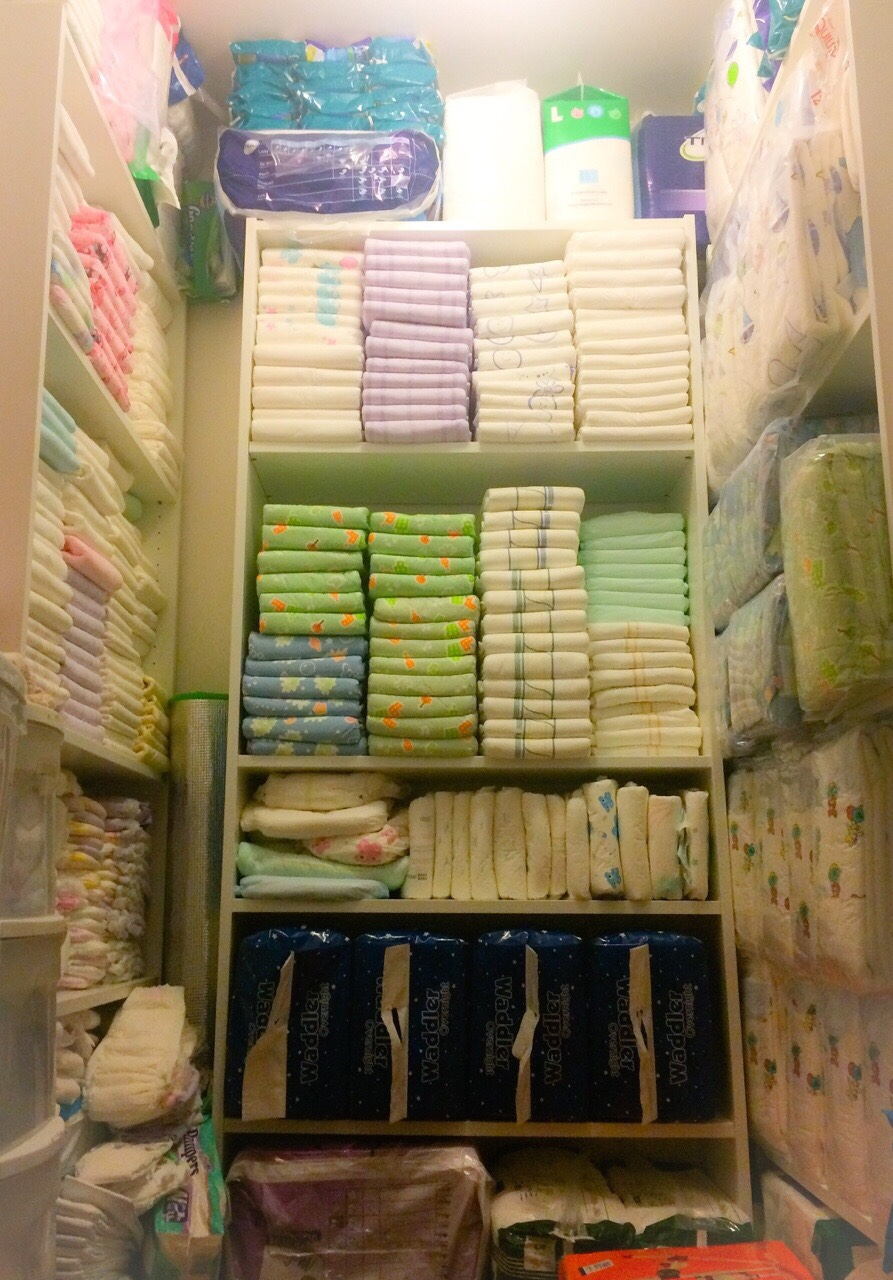 Abdl diaper stash