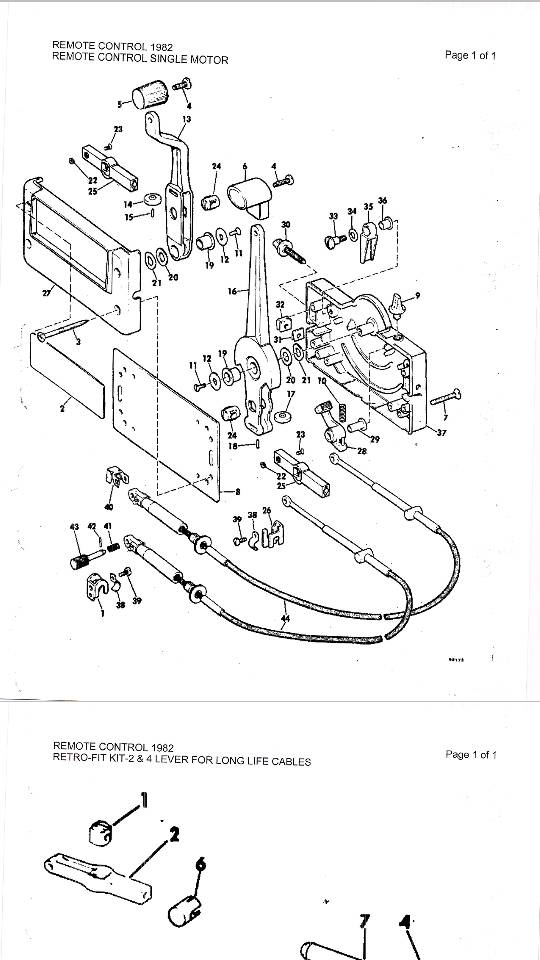 31 Omc Throttle Control Box Diagram