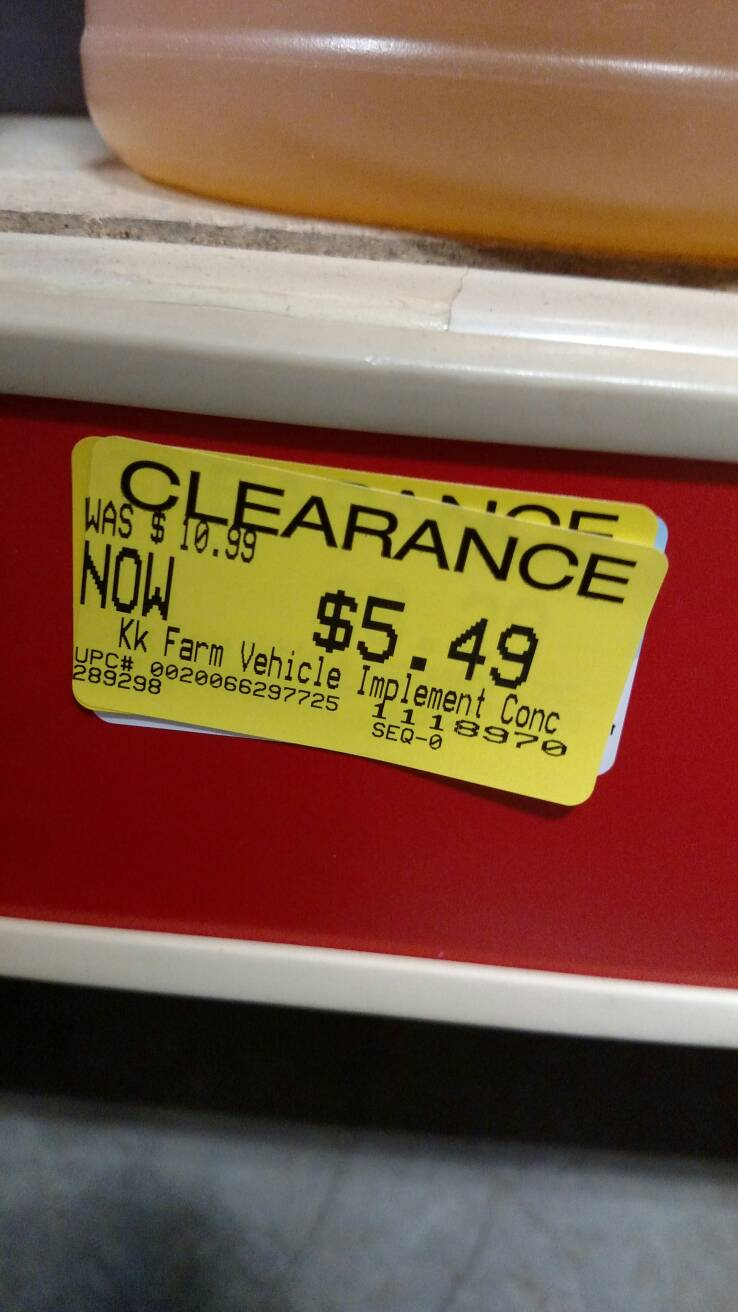 Tractor Supply 2017 Clearance thread    - The Garage Journal Board