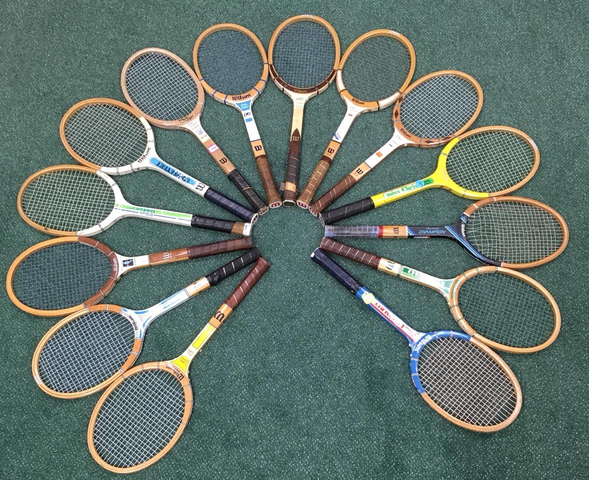 Vintage Chris Evert Tennis Racket  Wood Tennis Racquet  Wilson Chris Evert Racket