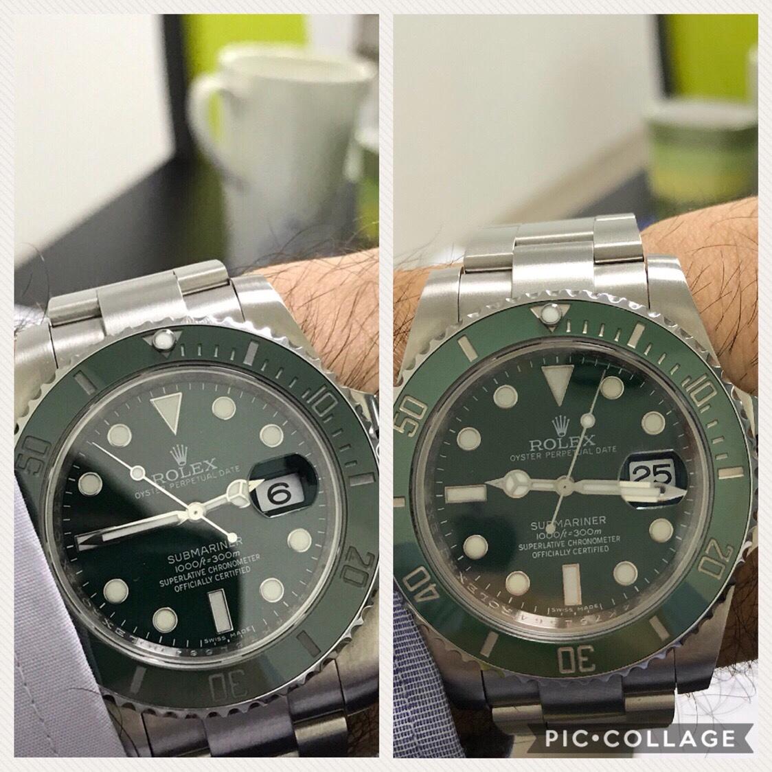 Rolex sub 116610 LN & LV. Ποια έκδοση κ γιατί?  - Ρολόγια Replica