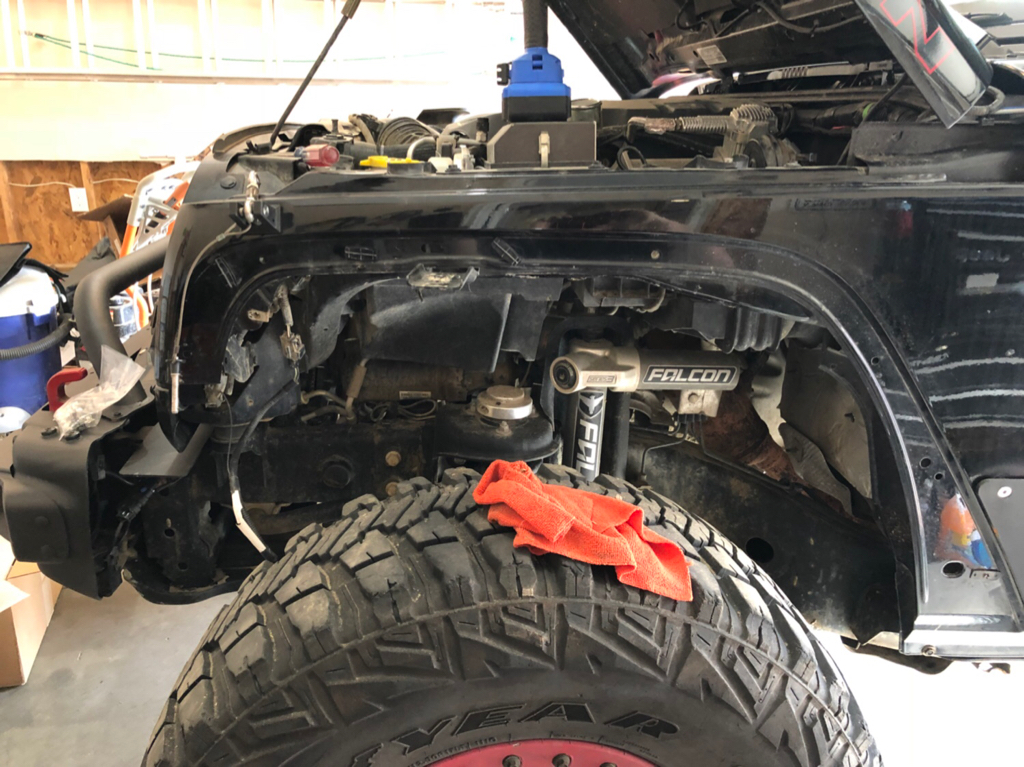 Hyline Offroad Inner Fender Liners With Falcon Shocks