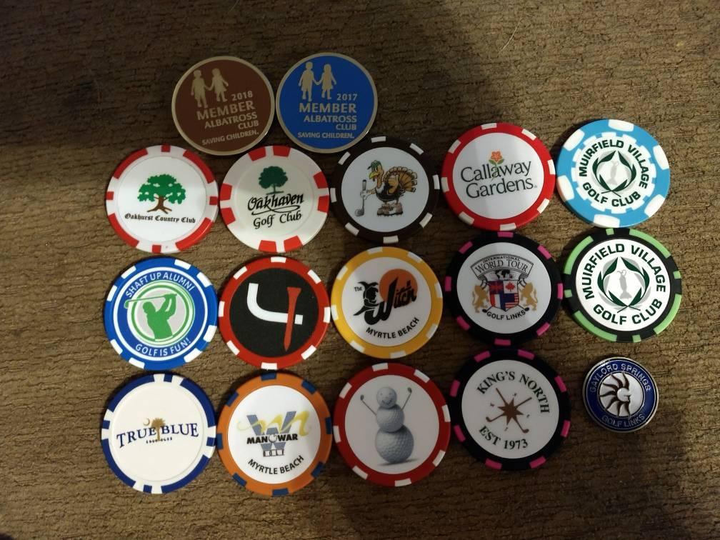 Ball Markers Divot Tools Amp Other Things We Collect Page 183