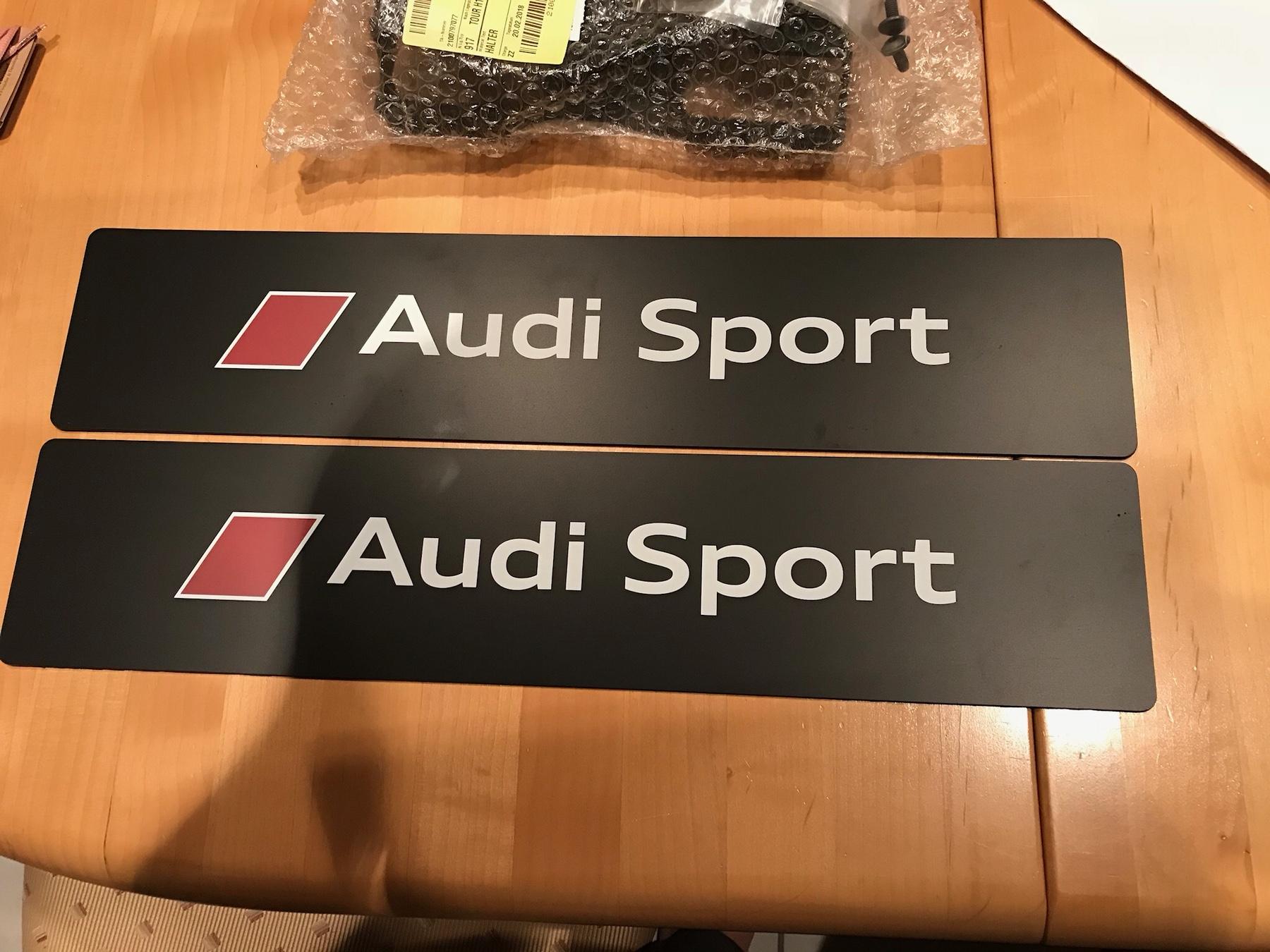 Audi Ringe in schwarz : Allgemeine Disskusionen - Seite 2