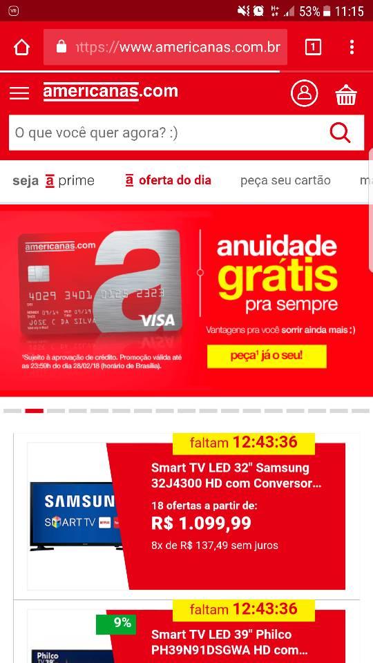 e3b588702 Americanas] iPhone 8 e 8 plus - R$ 2.692,12 e R$ 3.096,04 no Cartão ...