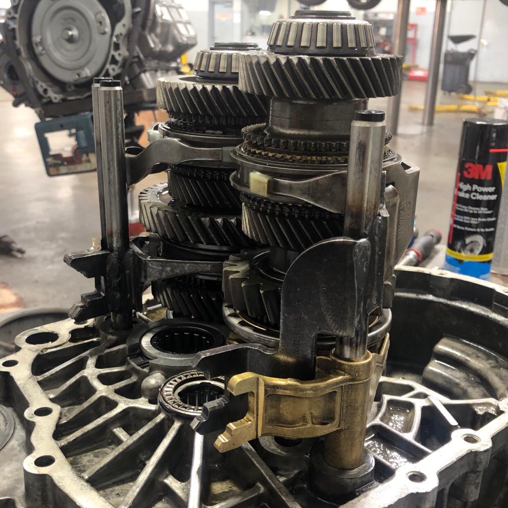 VWVortex com - O2Q Bronze Steel Shift Fork Sliders