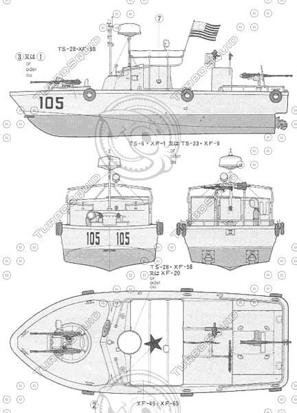 Pbr Mkii  Patrol Boat River  3d Hull Reconstruction