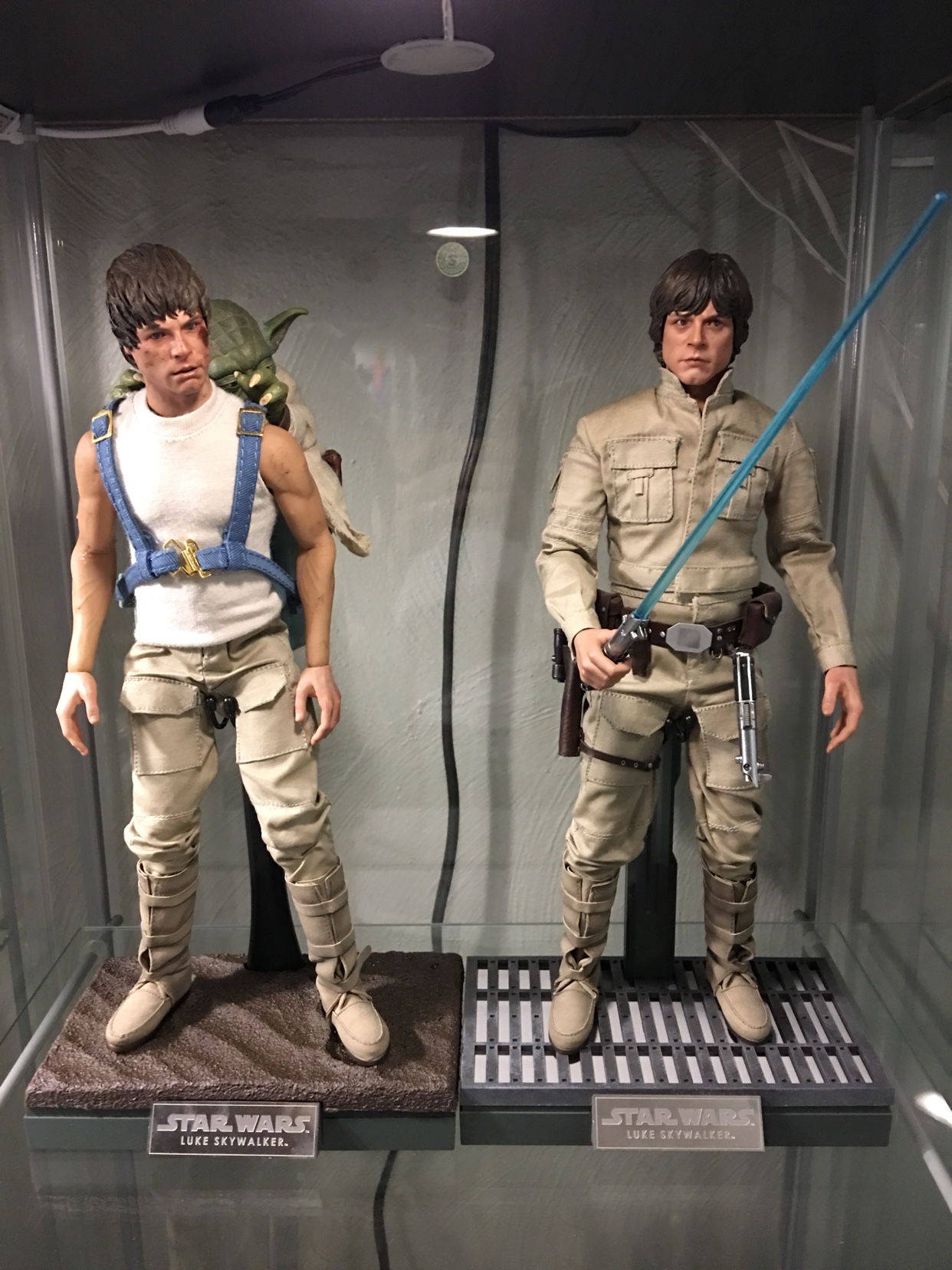 HOT TOYS STAR WARS LUKE SKYWALKER BESPIN OUTFIT DX-07 1//6 NECK POST JOINT NEW