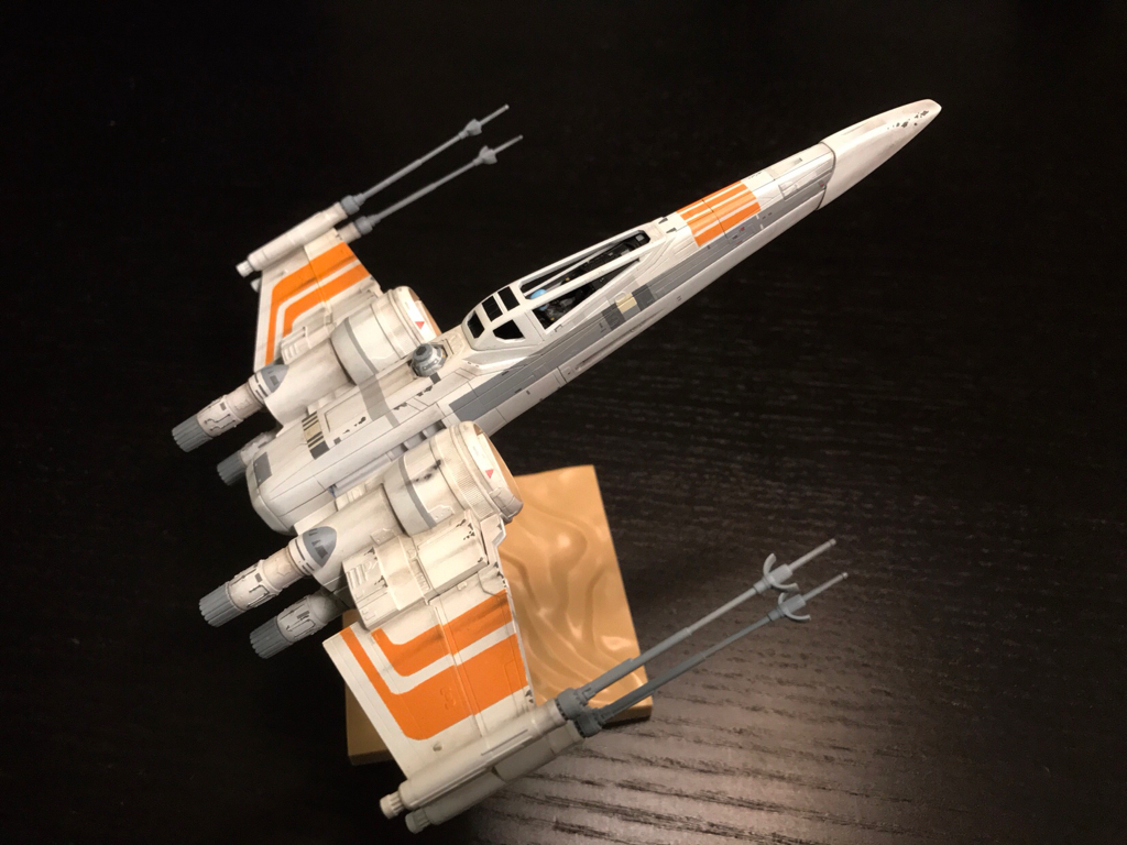 So Now I Have To Decide Whether To Keep The 70u0027s Style Wing Design I Did  For The McQuarrie Resistance X Wing I Did A Few Months Back