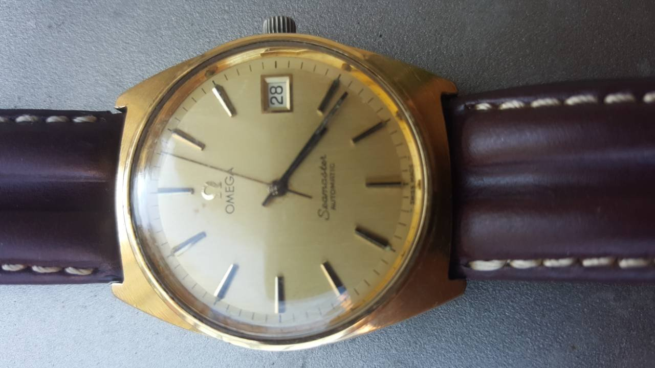 Need Help In Identifying If This Is Genuine Or Fake Vintage Omega