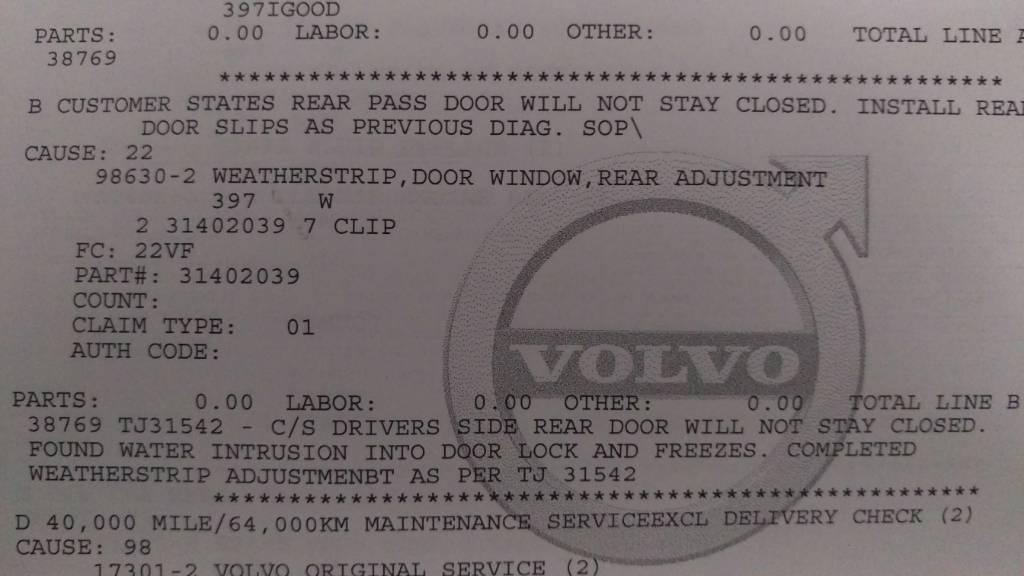 drivers side door wont stay open