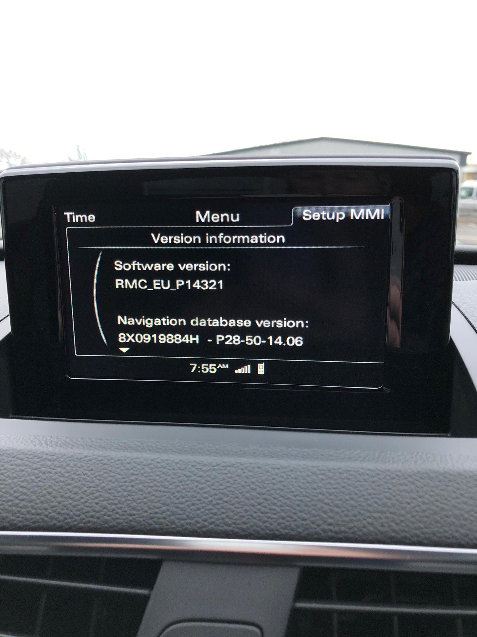 MMI and Console Reboots Randomly - Audi Q3 Forum