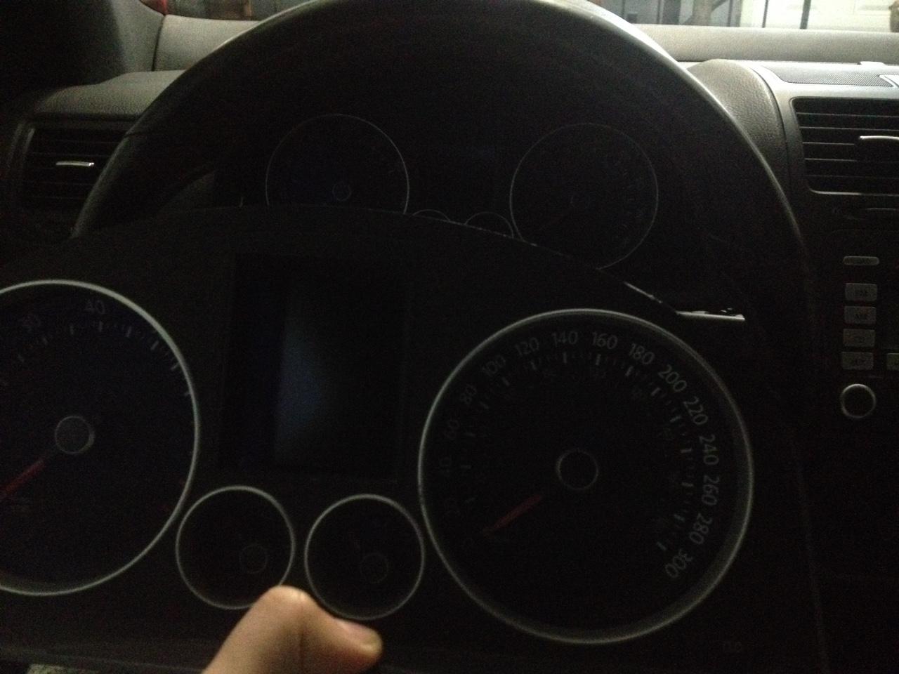 Mile to kilometer cluster swap ? - VW GTI Forum / VW Rabbit