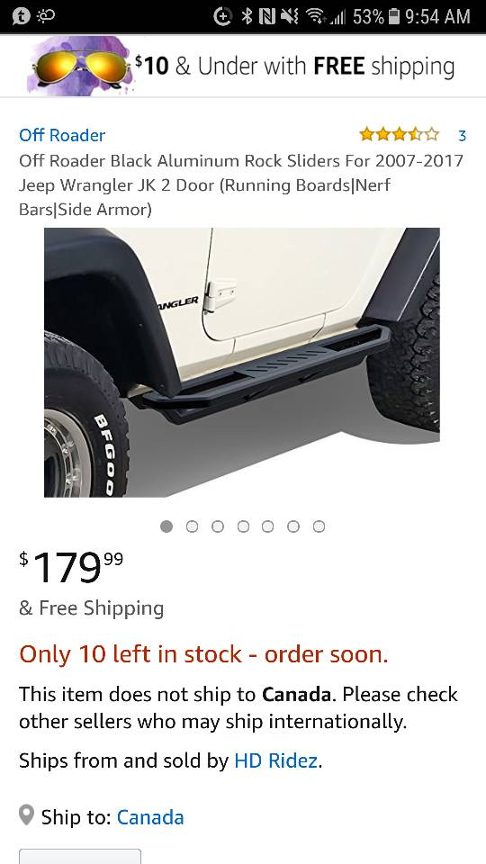 1eee8e68871 Aluminum rock sliders!? - JKowners.com : Jeep Wrangler JK Forum