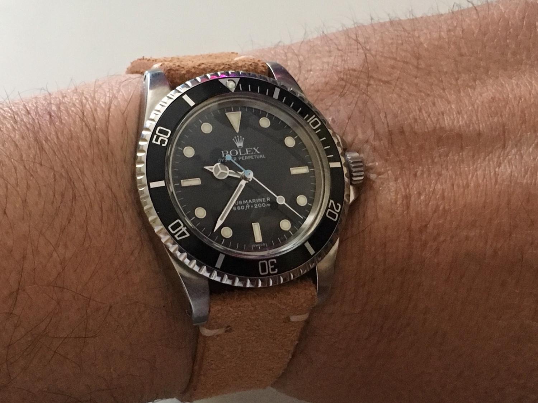Rolex Submariner Ref. 5513 με gilt dial του 1966 - Ιδιοκατασκευές