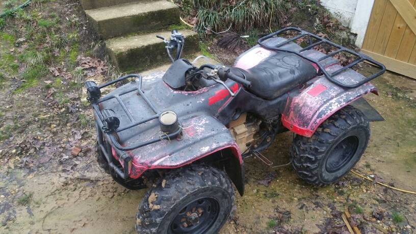 2002 honda recon 250 died out and won't fire back up