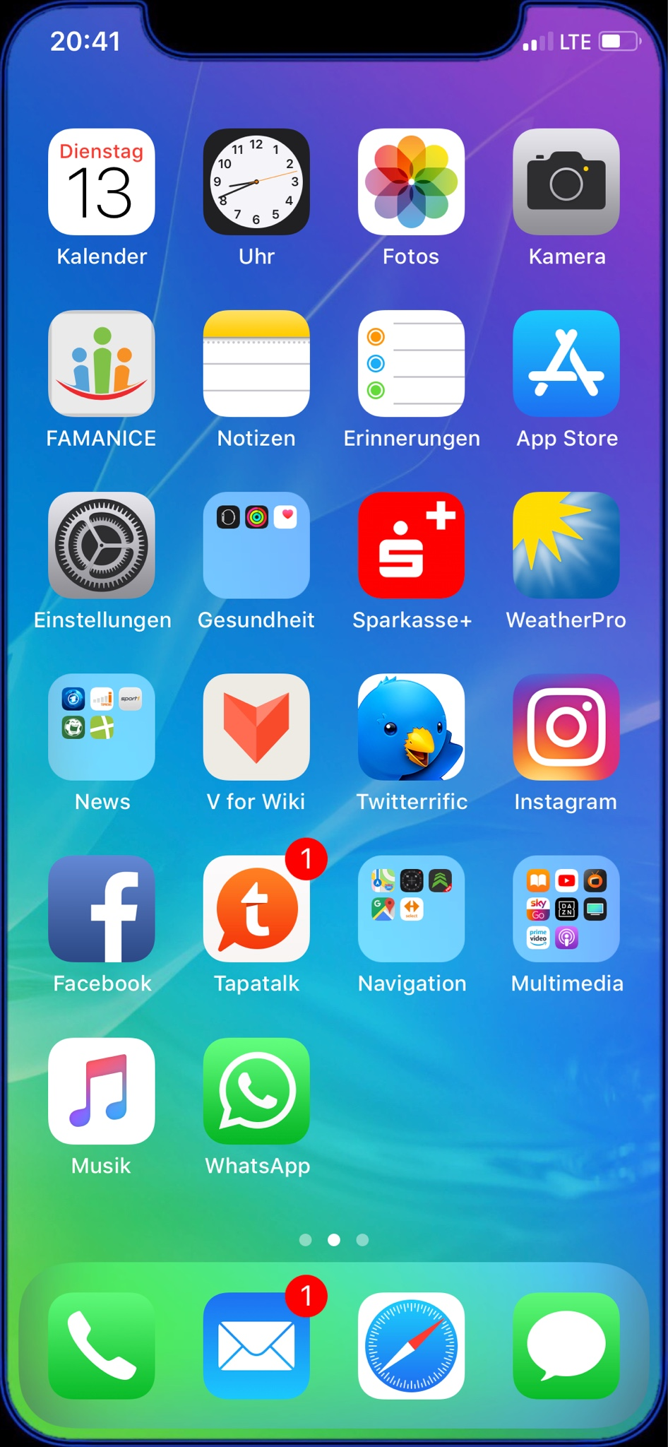today screen iphone