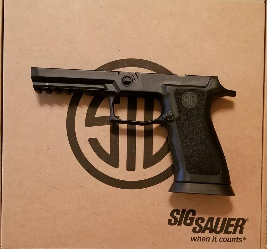 SOLD] Sig P320 X5 Grip Module NIB $180 | Carolina Shooters Club
