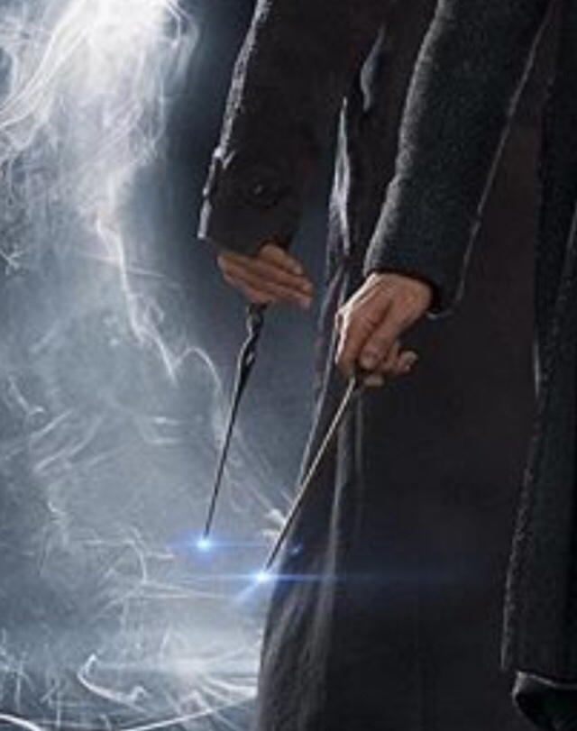 Fantastic beasts 2 dumbledore s wand for Grindelwald s wand