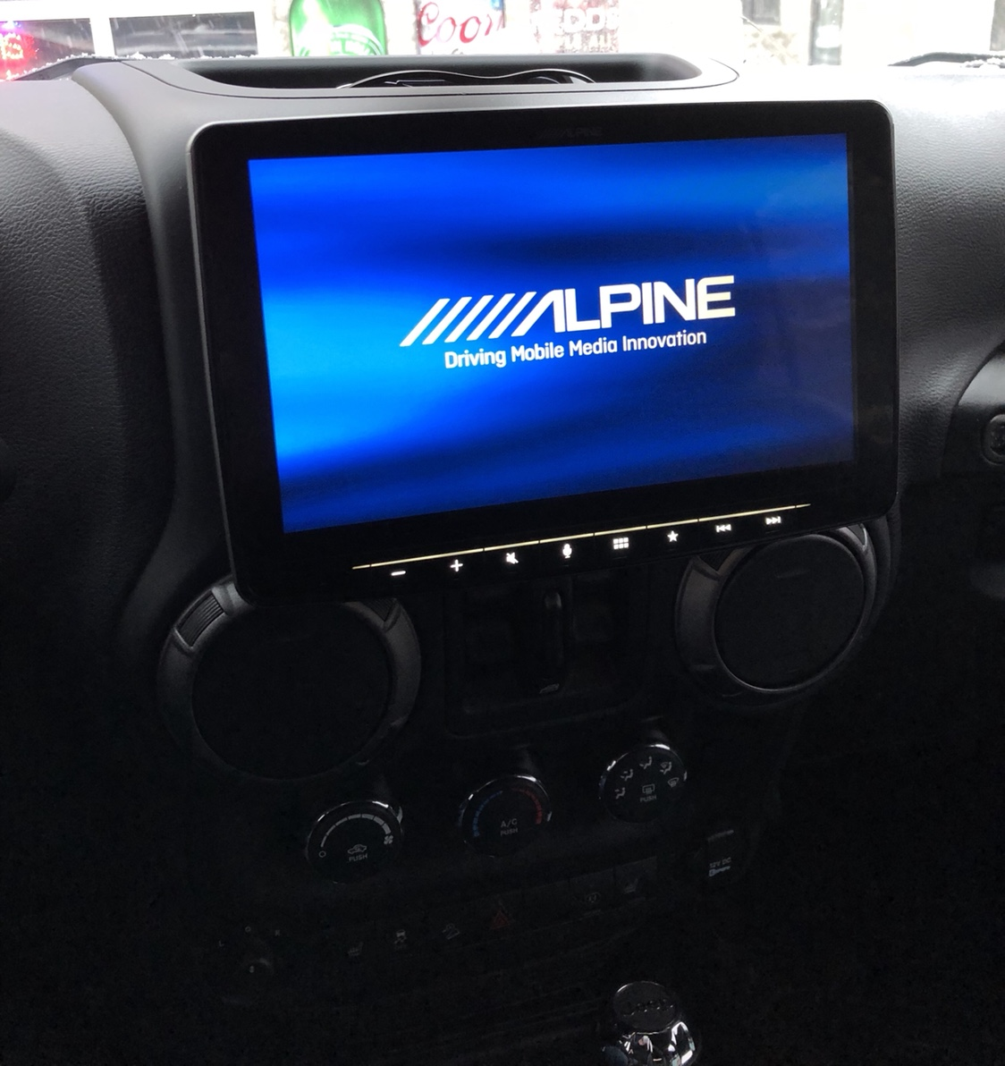 Alpine Halo9 Ilx F309 Install Then Review Jeep Wrangler Forum 89 Cherokee Wiring Harness This Image Has Been Resized Click Bar To View The Full