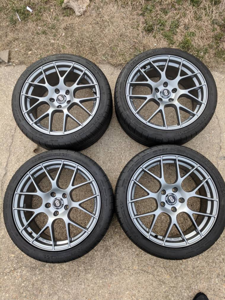 Fs Enkei Raijin 18x8 Et45 W Mpss 235 40 18 Tires