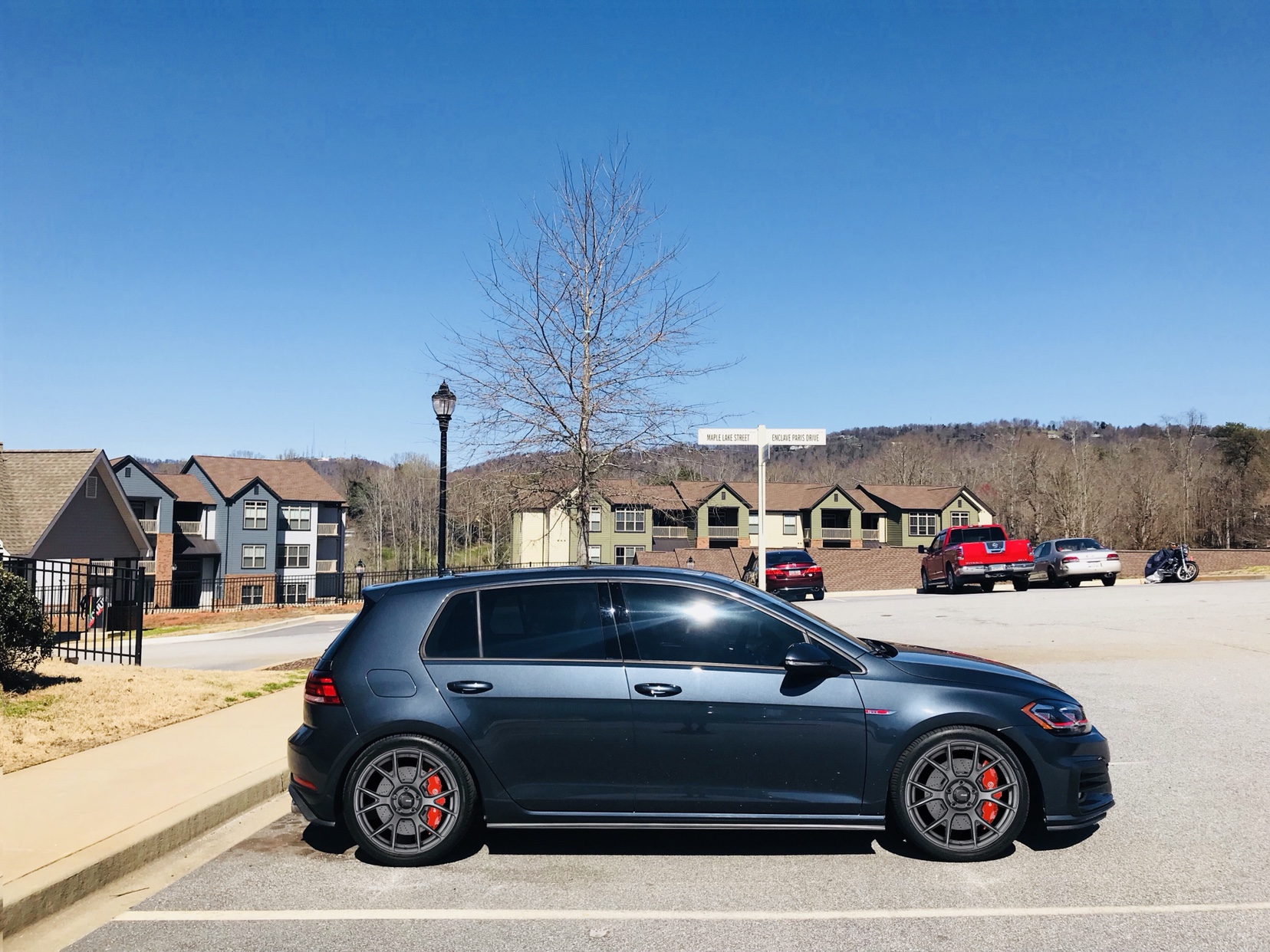 post your dark iron blue gti page 2 golfmk7 vw gti. Black Bedroom Furniture Sets. Home Design Ideas