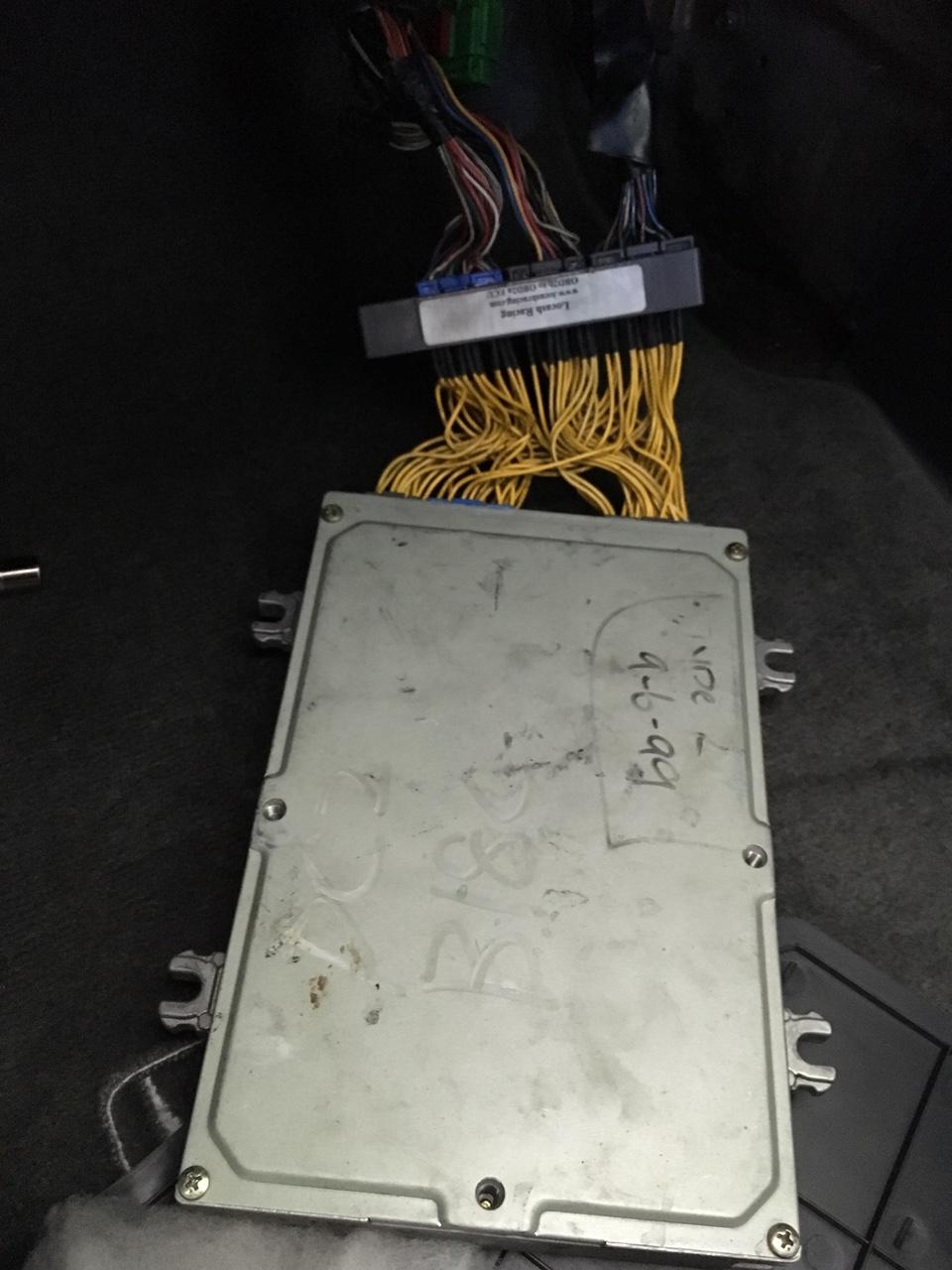 How To Jdm Itr Motor Into Usdm Chassis No Cel Smog Inspection Rywire Ecu Diagram Image