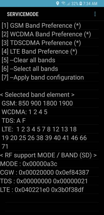Samsung direct unlocked s9+ have band 71? - Android Forums