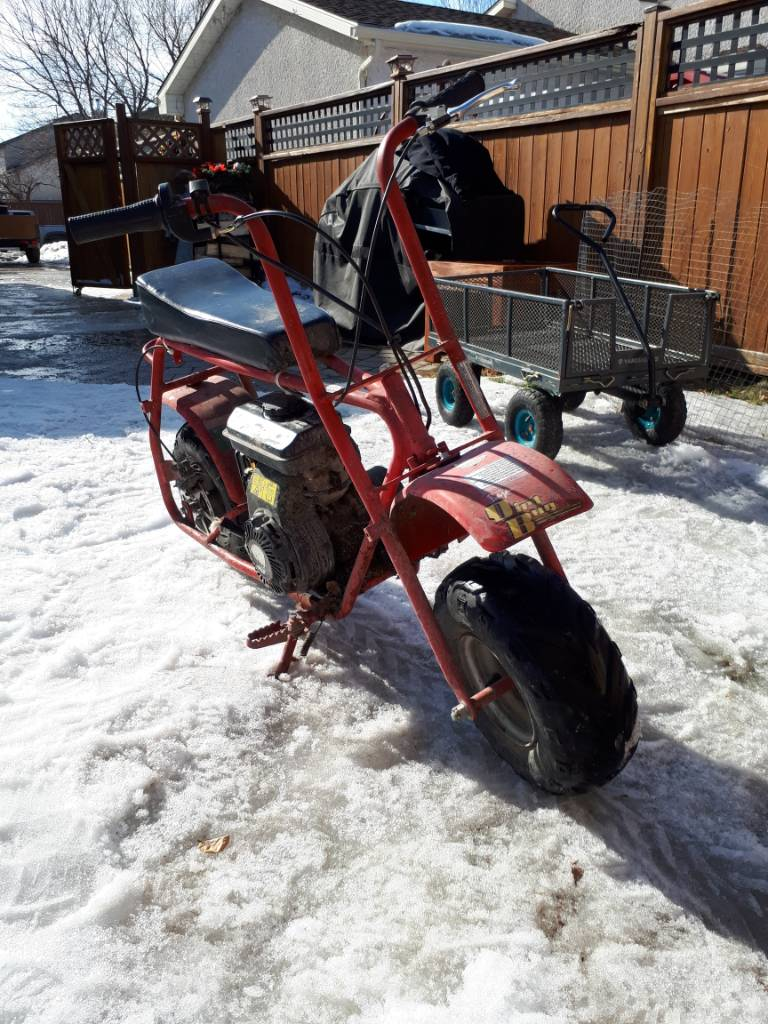 Picked up a Dirt Bug | OldMiniBikes com