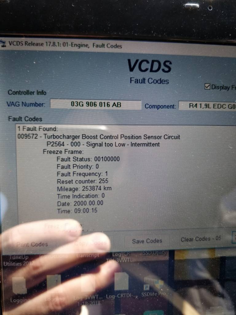 p2564 signal too low code | VW TDI forum, Audi, Porsche ...