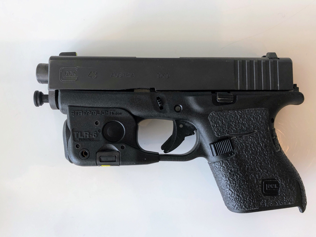 Can't remove slide on Glock 43