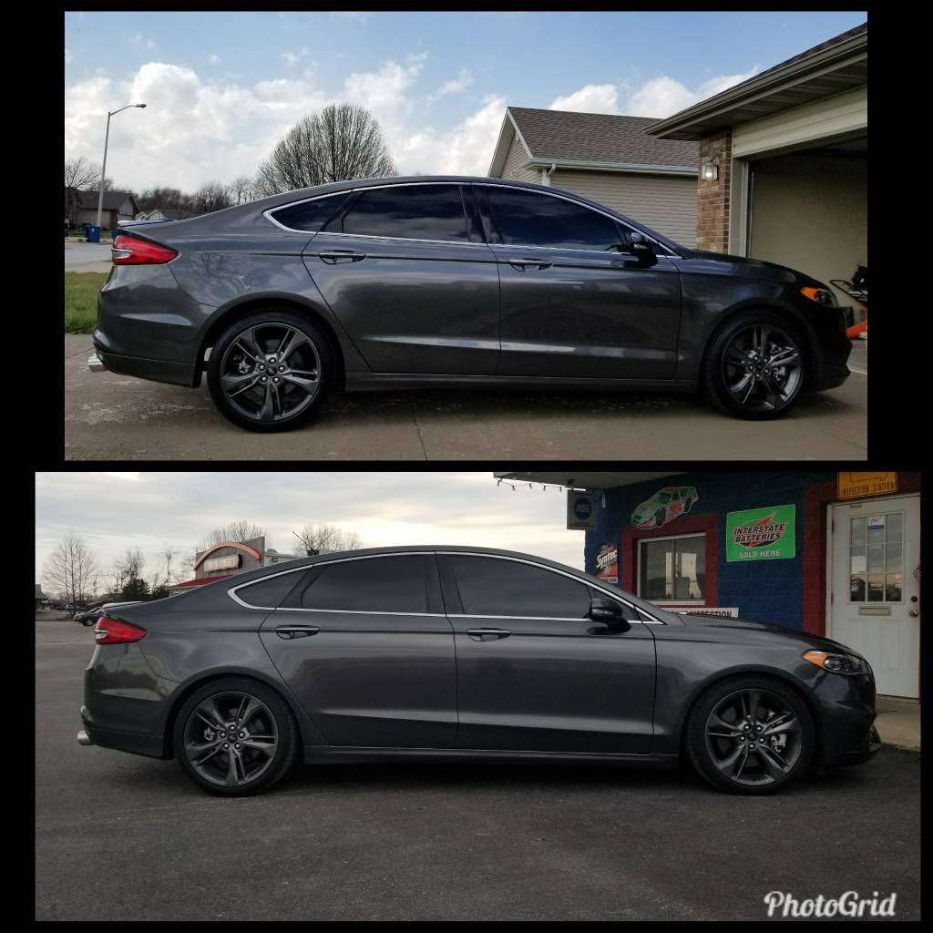 2018 Ford Fusion Sport >> Lowered on H&R Springs - 2017 Ford Fusion V6 Sport Forum