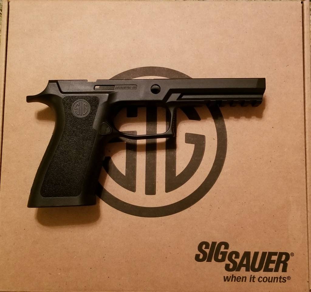 SOLD! [SOLD] Sig P320 X-Carry Full Size Grip $75 - SIG Talk
